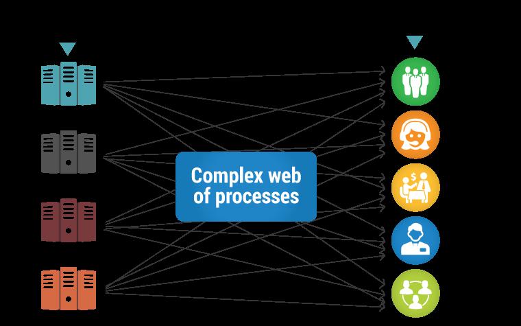 complex web of process