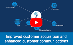 Improved customer acquisition and enhanced customer communications