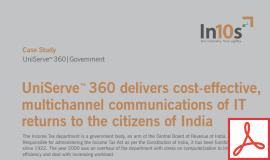 Know how the Income Tax department delivered a cost-effective, multichannel communications to the citizens of India