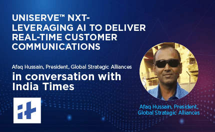 Feature Interview: Afaq Hussain, President, Global Strategic Alliances and Enterprise Business, Intense Technologies Ltd in conversation with India Times.