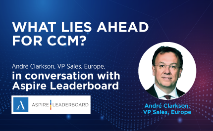Feature Interview: André Clarkson, VP Sales, Europe, in conversation with Aspire Leaderboard