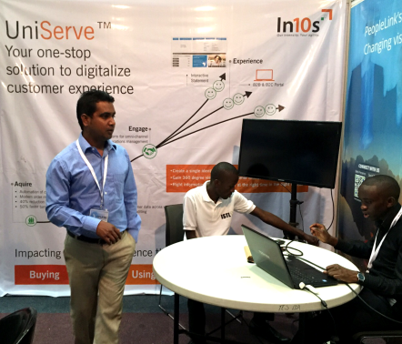 Exhibited at INDO – AFRICA ICT EXPO 2015