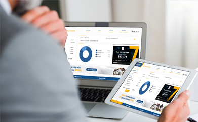 Enhance customer experience with interactive mobile responsive statements