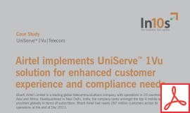 Know how a leading global telecom company gained by creating a single view of all its customers