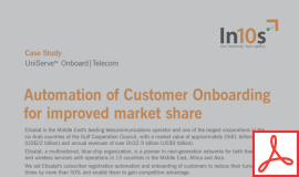 Know how a leading telecom operator of the Middle East transformed their onboarding process